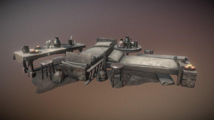 Old Tavern Bundle 2 (of 2) 3D Model