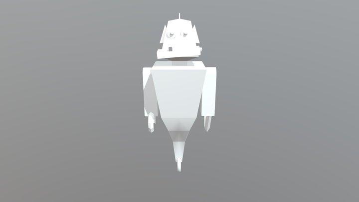 Robot CMD1G Xavier van Loo 3D Model