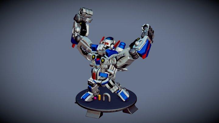 Mecha-Kong 3D Model