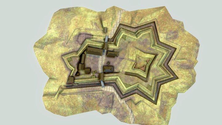 Velká šance stav mezi léty 1763-1808 3D Model