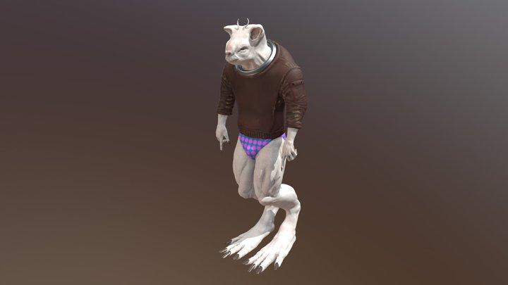 Ratman : The Space Rodent 3D Model