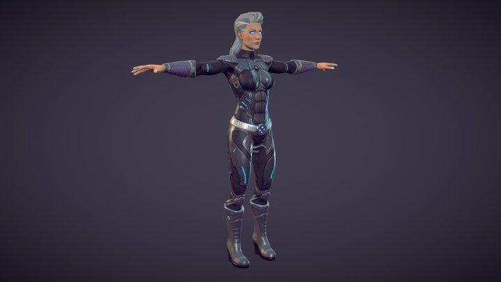 Storm X-MEN 3D Model