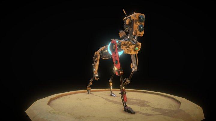 ReCore Mack | Robot Dog 3D Model