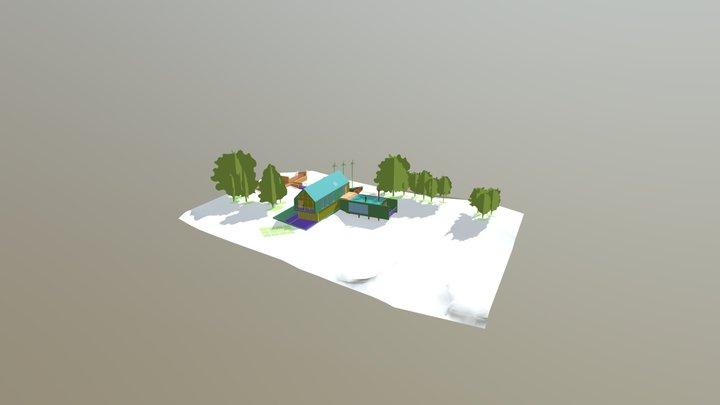 Rac Basic Sample Project - Vista 3D - Approach 3D Model