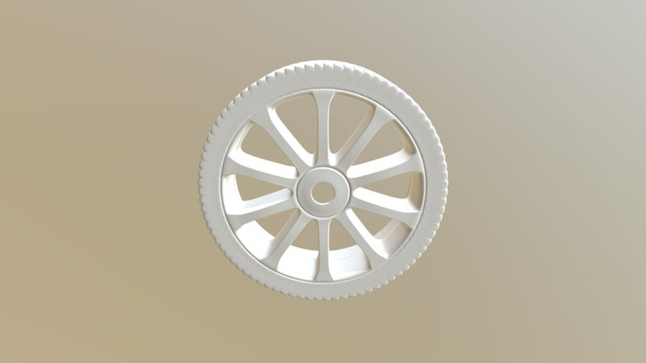 Exercise #1900 Modeling A Wheel Mit Modifiers 3D Model