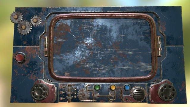 Control panel 3D Model