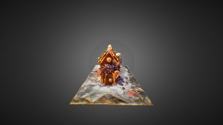 Candy House 3D Model
