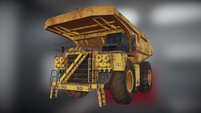 Caterpillar Minning Truck 3D Model