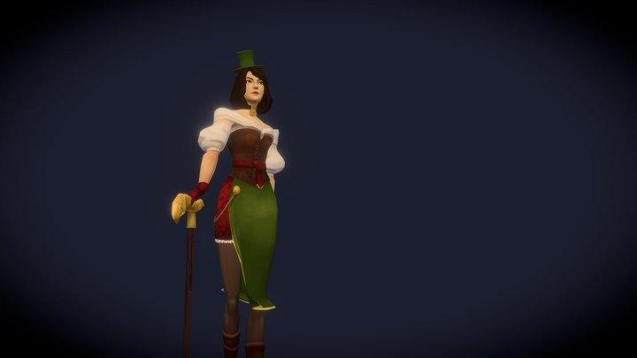 Village Tavern Owner; Original character project 3D Model