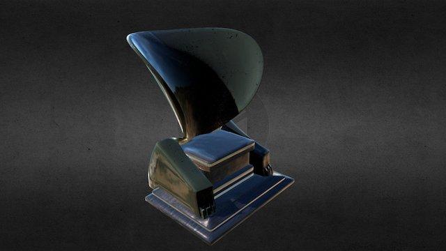 Egyptian Throne 3D Model