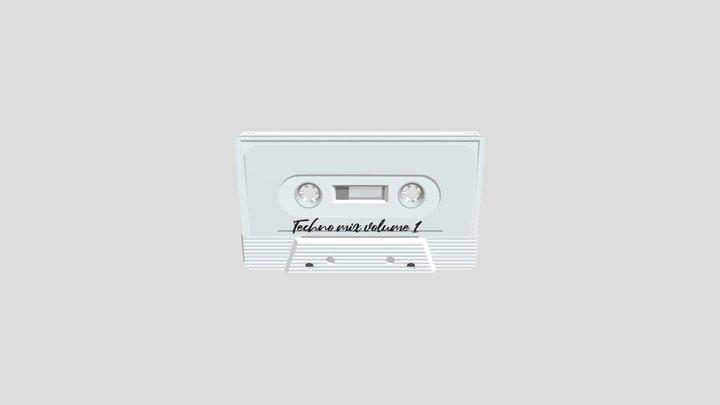 Audiotape 3D Model