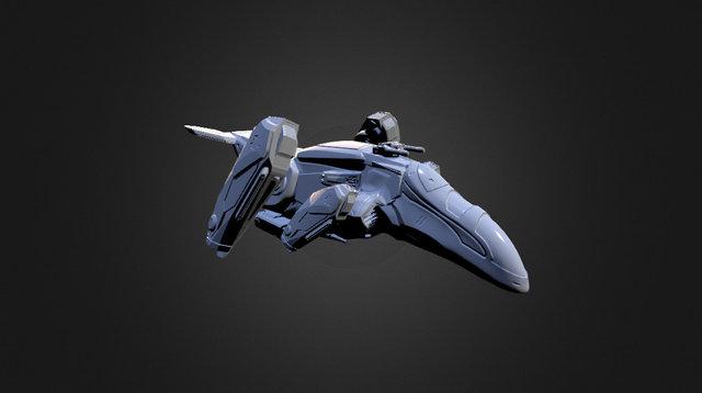 VTOL for 15mm gaming 3D Model