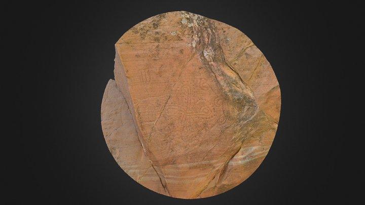 Petroglyph Panel near Gila Bend