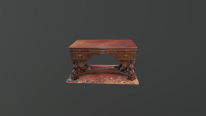 Horner Partner's Desk 3D Model