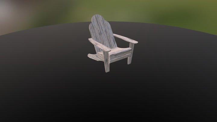 Adirondack Chair2 3D Model
