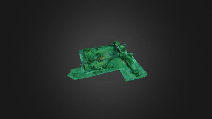 PS Herald wreck site 3D Model