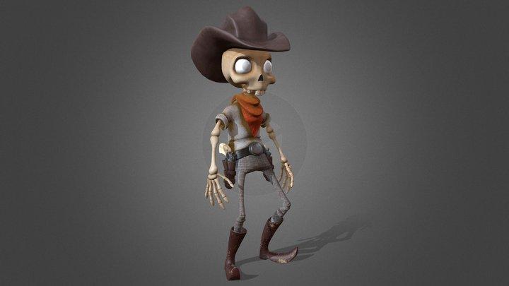 William H. Boney 3D Model