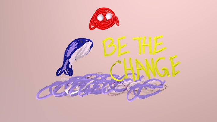 Be the Change 3D Model