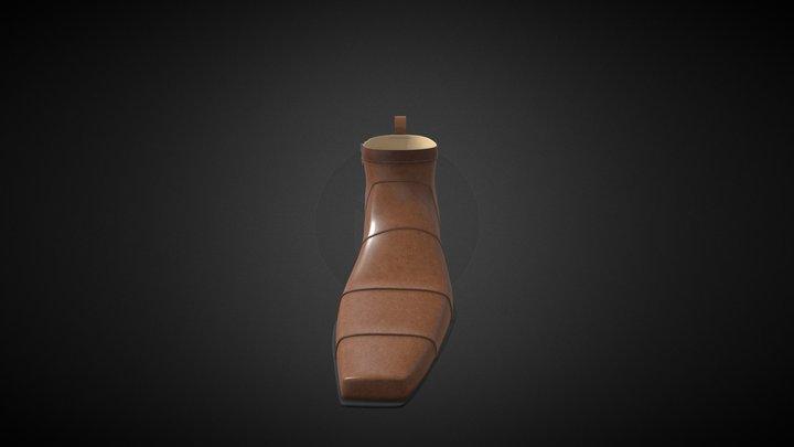Cowboy Boot 1 3D Model