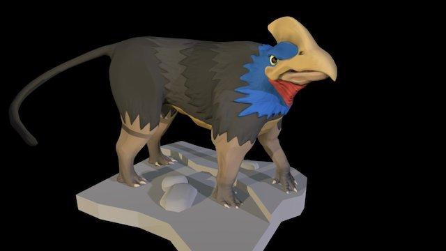 Mountain Hawk Striker 3D Model