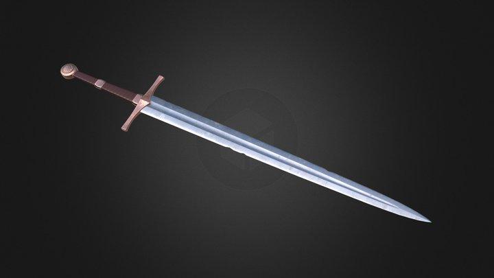 XYZ school Homework_10_Sword 3D Model