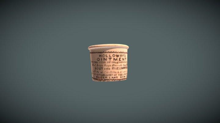 Ointment Bottle 3D Model