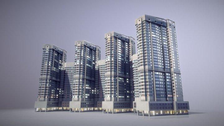 City House Building25 3D Model