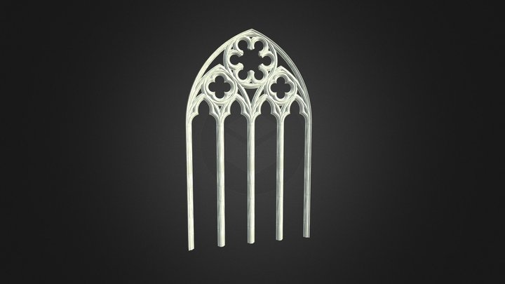 Gothic Arch 2 3D Model
