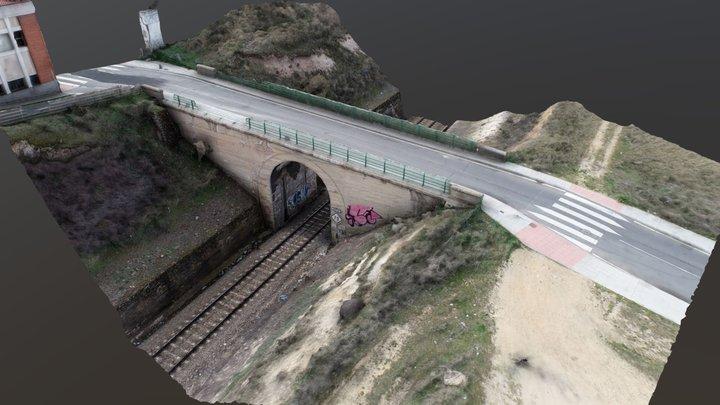 Bridge (Drone Photogrammetry) 3D Model