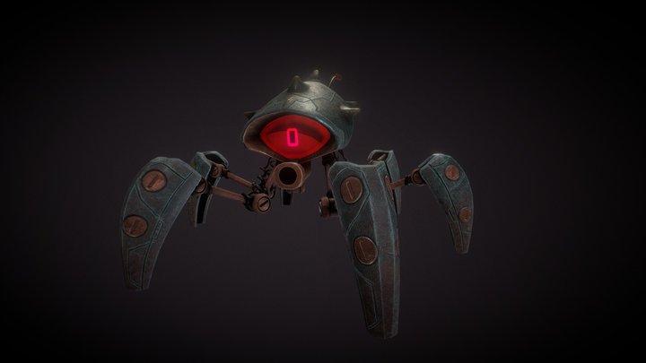 Robotspider 3D Model