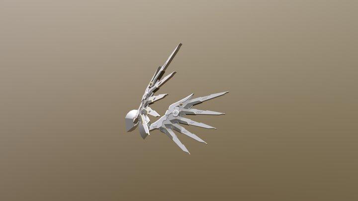 Mercy Wings 3D Model