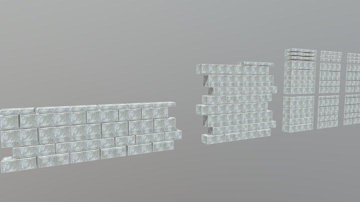 Wall Constructions 3D Model