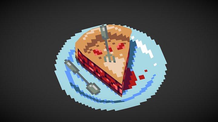 Low-Fi Cherry Pie 3D Model