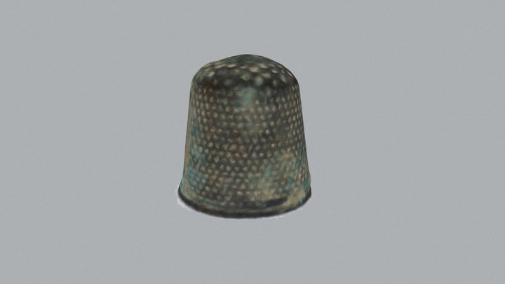 Small Find 100 - Thimble 3D Model
