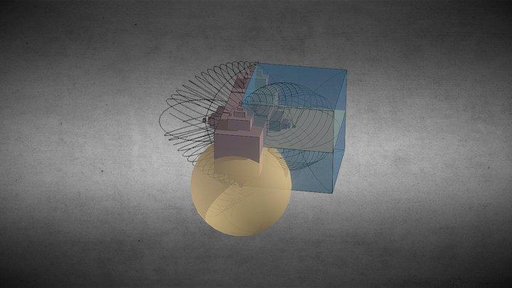 Matter vs. anti-matter 3D Model