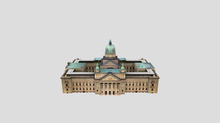 Bundesverwaltungsgericht Leipzig 3D Model