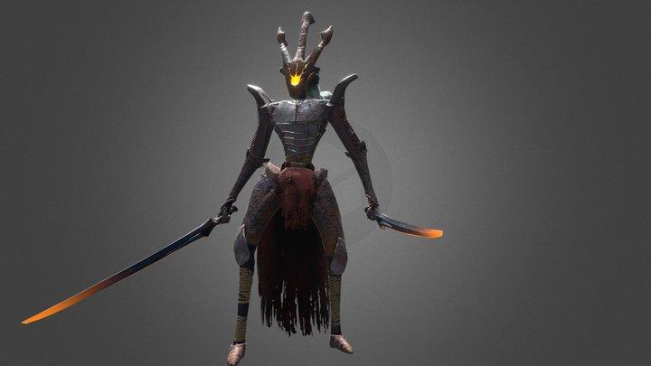 Hester - Game Character 3D Model