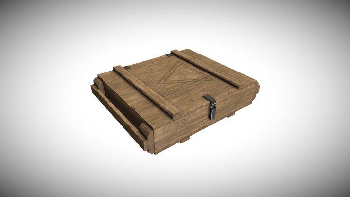 7.62 Ammo Box 3D Model