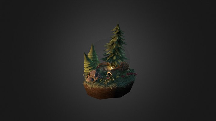 Forestscene 3D Model