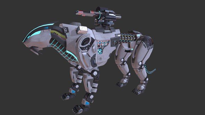 Mecha-Tiger 3D Model