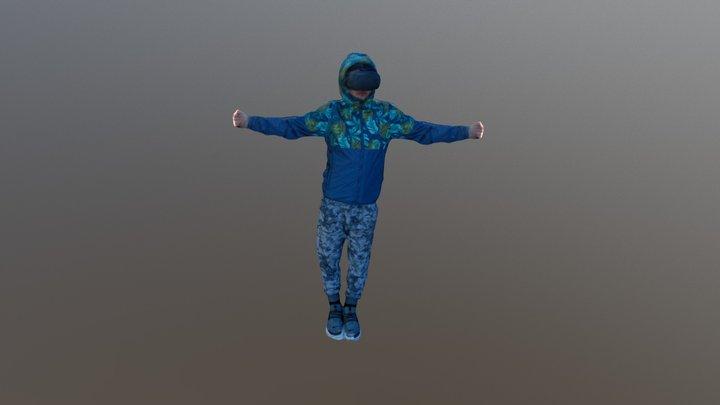 Andrew Mesh 3D Model
