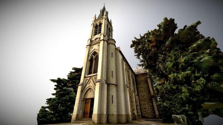 Eglise Notre-Dame de Davézieux 3D Model