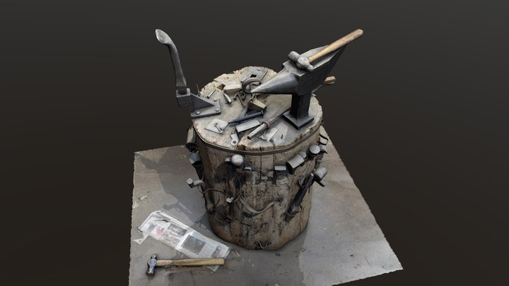 Anvil Stump [Test] 3D Model