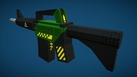 Accelerator Maplestrike 3D Model