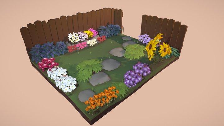 The Garden 3D Model