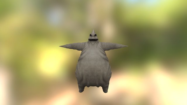 Kingdom Hearts - Oogie Boogie 3D Model