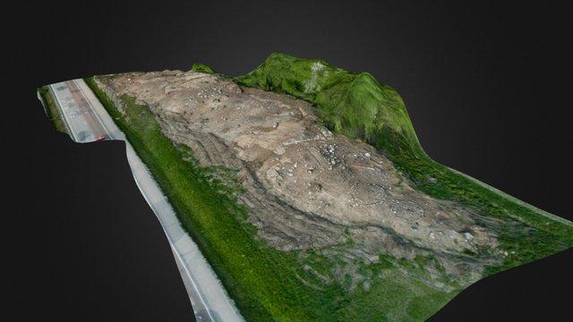 Gravfält i Rosersberg 3D Model
