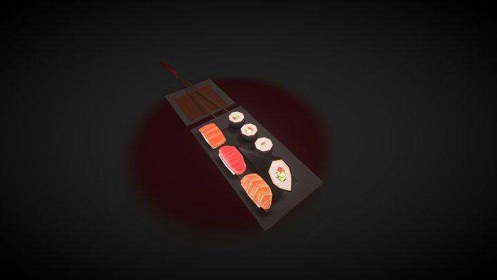 Sushi time! 3D Model