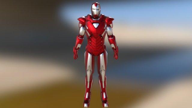 Iron Man Mark XXXIII - Silver Centurion 3D Model