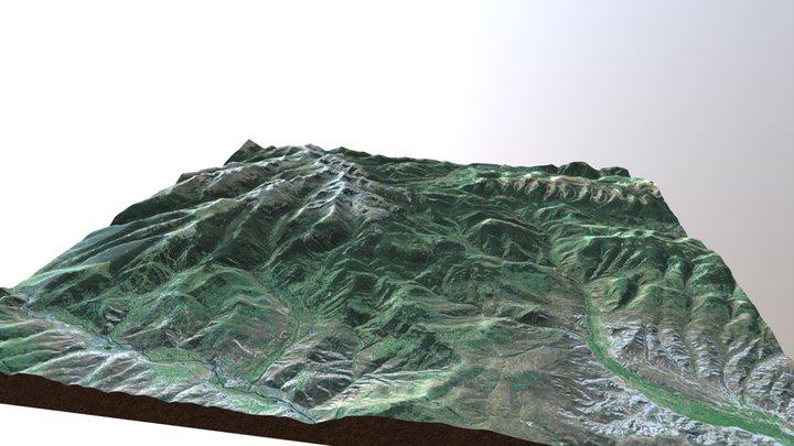 Holy Cross Mountain at Beaver Creek, CO 3D Model